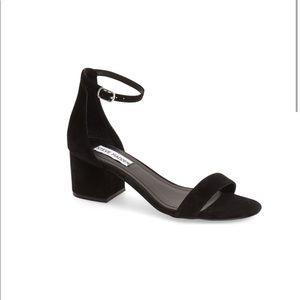 Steve Madden Irenee Ankle Strap Sandal, Black